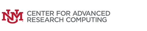 UNM Center for Advanced Research Computing logo